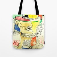 kitchen Tote Bags featuring kitchen by Matteo Lotti