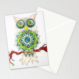 Mandalowl Stationery Cards