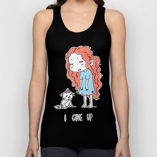 I Give Up Unisex Tank Top