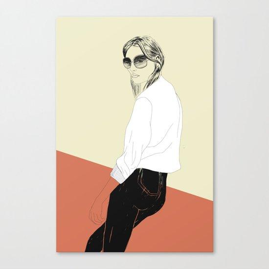 Woman Color 16 Canvas Print