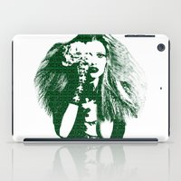 calvin and hobbes iPad Cases featuring Fashion Lara Stone Calvin Klein by fashionistheonlycure