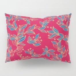 Winter Floral Pattern Pillow Sham