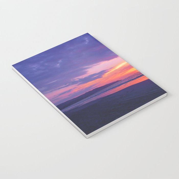 Broken sunset by #Bizzartino Notebook