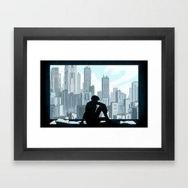 Ghost in the Shell Framed Art Print