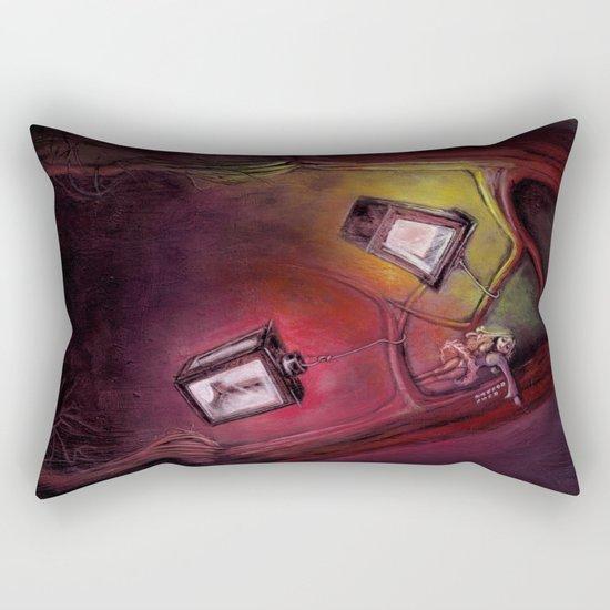 catch me if I fall Rectangular Pillow