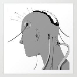 Cybernetic Coma Art Print