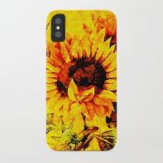 Sunflower Slim Case iPhone X