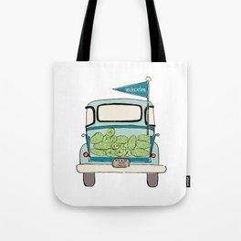 Watermelon Truck Tote Bag