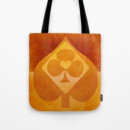 Full of Aces (Orange Version) Tote Bag
