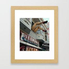Haight Street, San Francisco, CA Framed Art Print