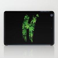 marijuana iPad Cases featuring Marijuana H by Spyck