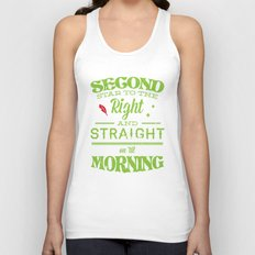 Second Star to the Right - Peter Pan Unisex Tank Top