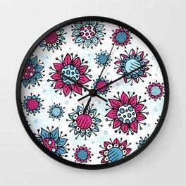 Weird and Wonderful (Flowers) Wall Clock