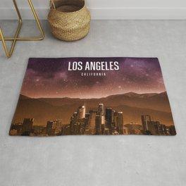 Los Angeles Wallpaper Rug