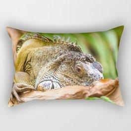 Chameleons master of disguise Rectangular Pillow