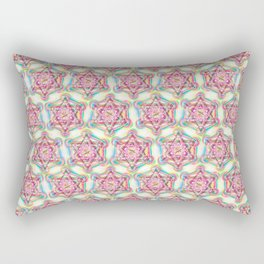 Metatron's Cube Sacred Geometry Rectangular Pillow