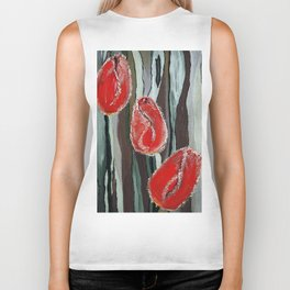 "Thumbnail of the painting ""Spring mood"" Biker Tank"