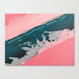 ABSTRACT STREAM | Acrylic abstract art by Natalie Burnett Art Canvas Print