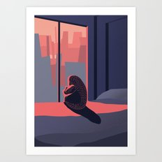 Just look outside Art Print