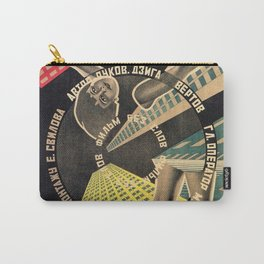 Man with a Movie Camera, vintage movie poster, 1929 Carry-All Pouch