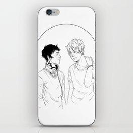 Kit & Ty iPhone Skin
