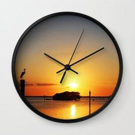 Compulsively Romantic Wall Clock