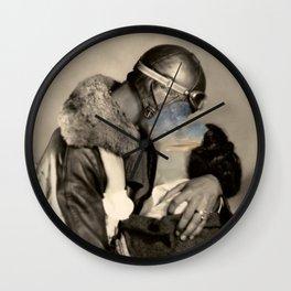Loving until hurts Wall Clock