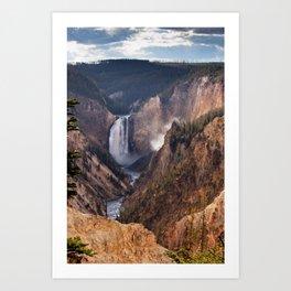 Yellowstone Grand Canyon Art Print