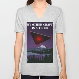 My Other Craft Is A TR-3B Unisex V-Neck