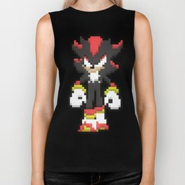 Shadow the hedgehog Sprite Biker Tank