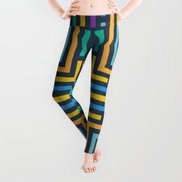 Geometric labyrinth Leggings