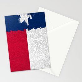 Extruded flag of Texas Stationery Cards