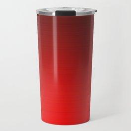 Tinted Red Travel Mug
