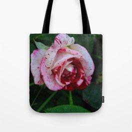 Blood & Milk Rose Tote Bag
