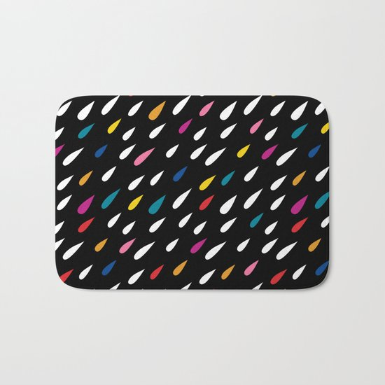 Bright Droplets Bath Mat