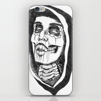 day of the dead iPhone & iPod Skins featuring Dead by Omar Guzman