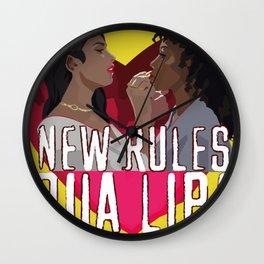 New Rules - Dua Lipa Wall Clock