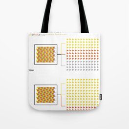 THE LION, THE FOX & THE ASS Tote Bag