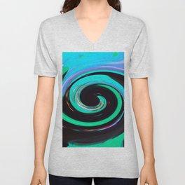 Swirling colors 02 Unisex V-Neck