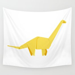 Origami Diplodocus Wall Tapestry