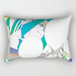 Color #6 Rectangular Pillow