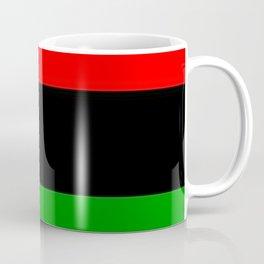 Red Black and Green Coffee Mug