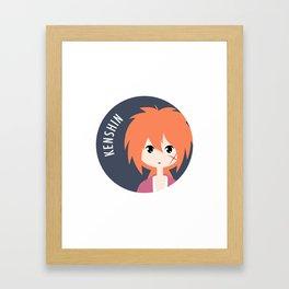 Kenshin Framed Art Print