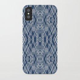 Art Deco Navy iPhone Case