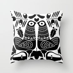 MCM Sanna Black Throw Pillow