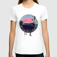 funky T-shirts featuring Llama by Ali GULEC