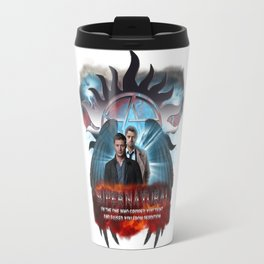 Supernatural Castiel I am the one who raised you from Perdition Travel Mug