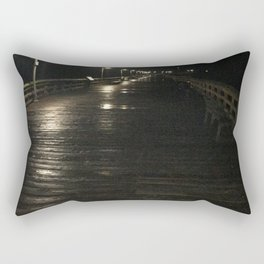A walk alone Rectangular Pillow