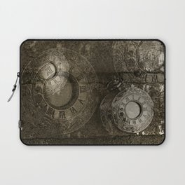 Too Much Time Laptop Sleeve