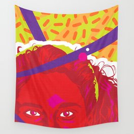 JESSIE :: Memphis Design :: Saved By the Bell Series Wall Tapestry